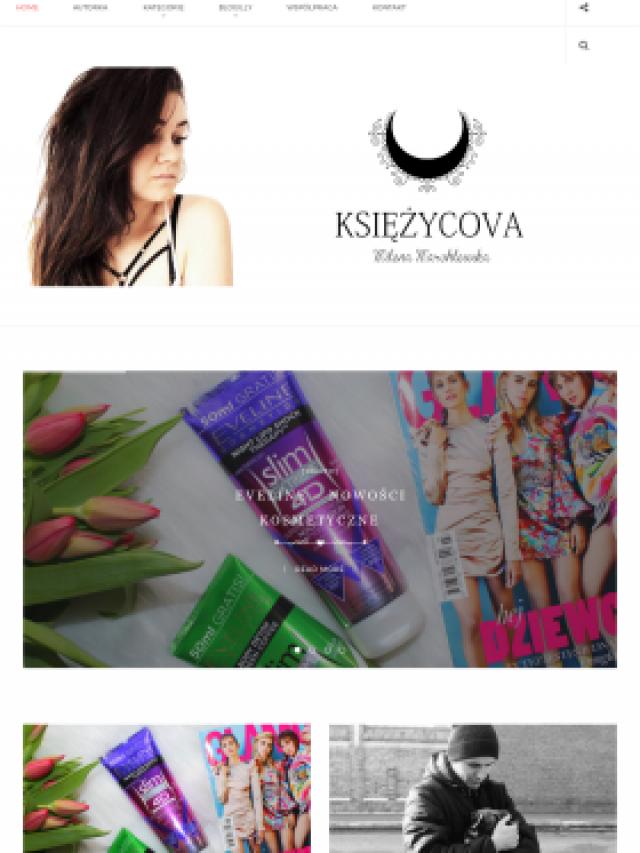 Księzycova – kobiecy blog lifestyle'owy