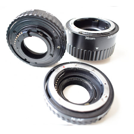 Pierścienie pośrednie – Test makrofotografii